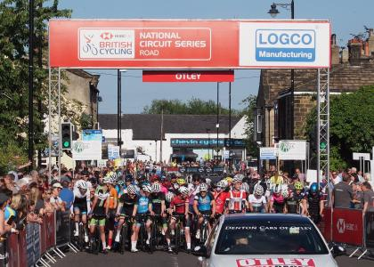 Otley Grand Prix under 16 race start